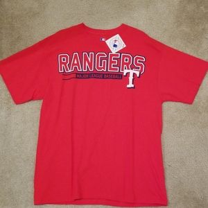 Rangers Men T shirt XL NWT